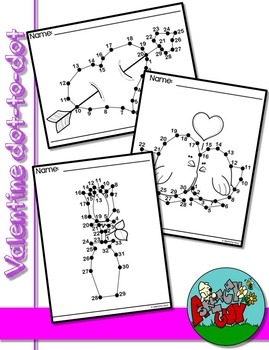 Dot to Dot / Connect the Dots - VALENTINE'S DAY