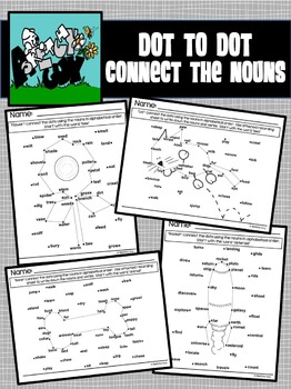 Dot to Dot / Connect the Nouns
