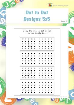 Dot to Dot Designs 5x5