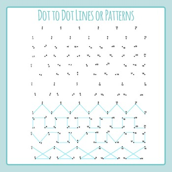 Dot to Dot Lines - Left to Right Progression / Pen Control / Patterns