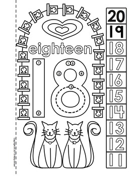Dot-to-Dot Number Book 11-20 Activity Coloring Pages