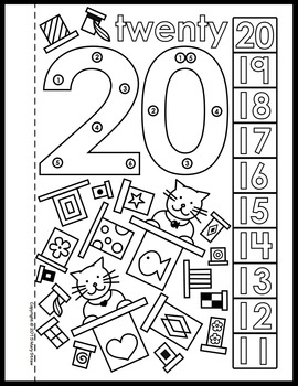 DottoDot Number Book 1120 Activity