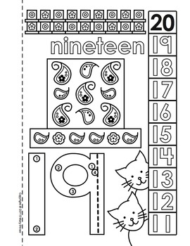 dot to dot number book 11 20 activity coloring pages by. Black Bedroom Furniture Sets. Home Design Ideas