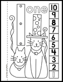 Dot-to-Dot Number Book Bundle 1-20 Activity Coloring Pages
