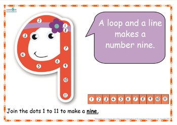 Dot-to-Dot Number Rhyme Charts (Standard Print)