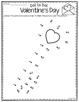Dot to Dot - Valentines