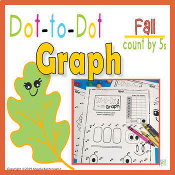Dot to Dot and Graph Fall Count by 5s | TpT