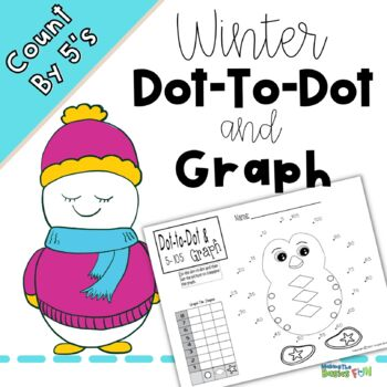 Dot to Dot and Graph -Winter Count by 5s