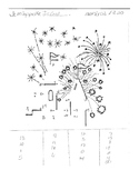 Dot to Dot to practice French numbers 1-20