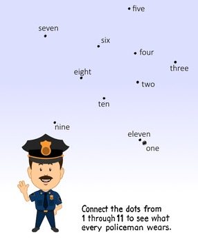 Dot-to-Dot with policeman