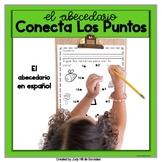 Dot to Dot  worksheet for Spanish Alphabet