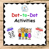 Dot-to-Dots Activities Worksheets - Connect the Dots 1 - 40