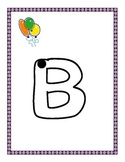 Dot to dot Alphabet Tracing Letters
