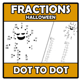 Dot to dot (Halloween) - Punto a punto - Fractions - Fracciones