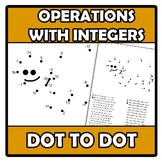 Dot to dot - Punto a punto - Operations with integers - Op