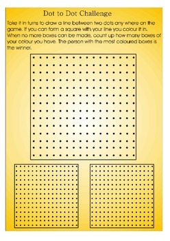 Dot to dot challenge
