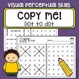 Dot to dot copy practice - Visual perceptual skills - Occupational Therapy