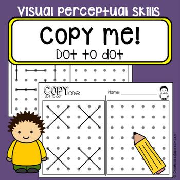 Dot to dot copy practice - Visual perceptual skills - Occu