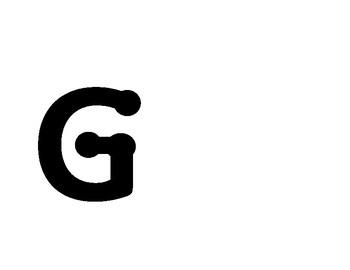 Dot uppercase letters