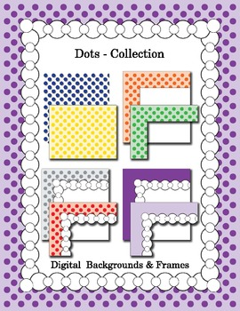 Dots Backgrounds and Borders