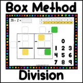 Dots Box method of long division,  Remainders - 50 practice slides
