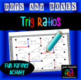 Dots & Boxes Game for Trig Ratios  Sine  Cosine and Tangent Solving for Sides