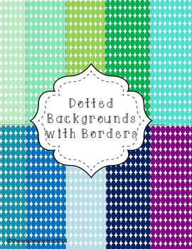Dots Digital Paper {20 papers 8.5x11}