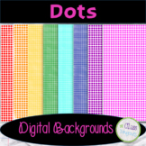 Dots Digital Papers/Backgrounds