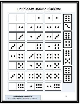 Dots Fun FREE Primary Grades Resource  (using dominoes)