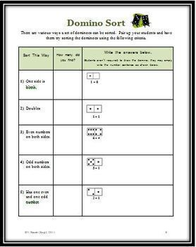 Dots Fun: 13 Primary Math Activities Plus Four Games Using Dominoes