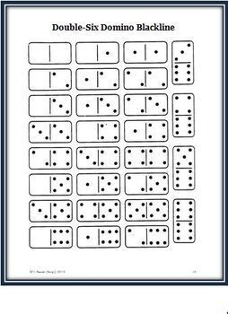 Dots Fun for Everyone: FREE Math Activities Plus a Game that Uses Dominoes
