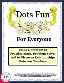Dots Fun for Everyone: 15 Hands-On Math Activities & Three Games Using Dominoes