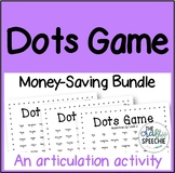 Dots Game: A Fast-Paced, No-Prep Articulation Activity (Mo