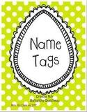 Dots Name Tags