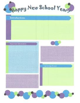 Dots Newsletter Template