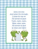 Dots Not Lots Glue Poem