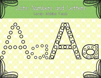 Dots: Numbers and Letters
