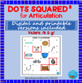 Dots Squared: A dot to dot game for speech practice: Velar
