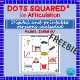 Dots Squared: Initial /k/   NO PREP