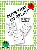 Dots That Go Splat Bossy R Card Game Bundle