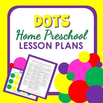 Dots Theme Home Preschool Lesson Plans