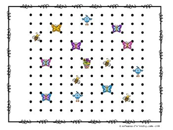 Dots and Boxes - Springtime Edition