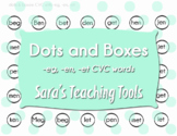 Dots and Boxes: -eg, -en, -et CVC words