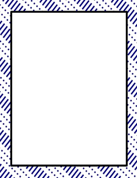 Dots and Dashes Pages and Borders Package