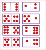 Dots and Dominoes Math Center for Simple Addition