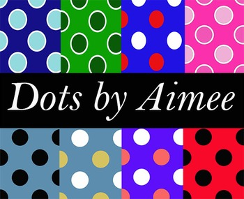 Dots digital paper pack