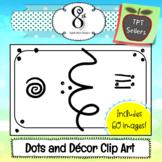 Dots and Decor Clip Art