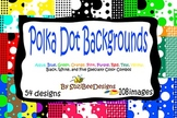 Digital Background Papers - Polka Dots