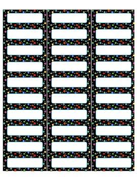 Dots on Black Labels PDF