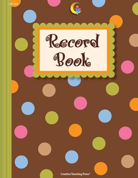 Classroom Record Book - Dots on Chocolate